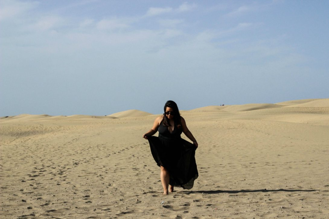 BUILT BY THE WIND: IN THE MIDDLE OF DUNES